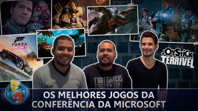 Os melhores jogos da conferência da Microsoft